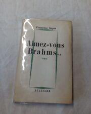 Françoise Sagan envoi à Félicien Marceau - Aimez vous Brahms ..Service de Presse