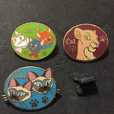 Disney Cast Lanyard Series - Cats Collection - Set of 3 VHTF