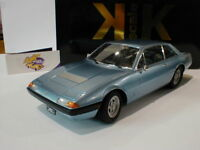 """KK-Scale 180162 - Ferrari 365 GT4 2+2 Bj. 1972 """" blaumetallic """" 1:18 Lim. Ed."""