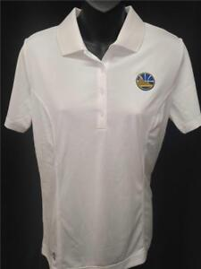 Neuf Golden State Warriors Femme S-M-L adidas Pure Mouvement Blanc Polo Golf
