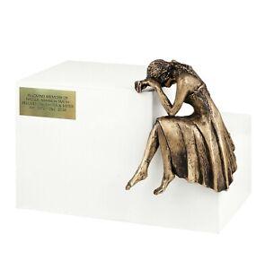 cremation ashes casket Unique Memorial Funeral urn Sculpture cremation urn GRIEF