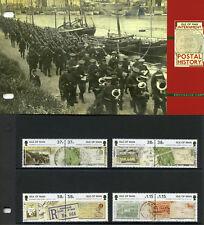 Isle of Man IOM 2011 MNH WWI WW1 Internment Postal History 8v Set Stamps