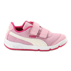 Chaussure PUMA Stepfleex 2 Engrener V Ps Article 190703 07 Rips Avec Rose Fille