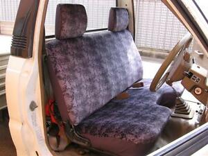 PLAIN GREY VELOUR SEAT COVER FIT FORD COURIER+MAZDA BRAVO 1990-1998,