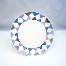 Villeroy & Boch Mettlach Saar Checkered/Diamond Salad Plate(s) VINTAGE