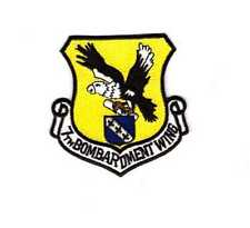 7Th Bomb Wing Patch, New