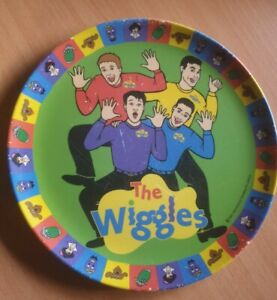 Vintage The Wiggles 1997 touring Plastic Plate pty limited OLD WIGGLES RARE