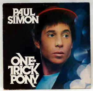 PAUL SIMON One Trick Pony OST LP Warner Bros K 56846 UK 1980