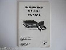 Yaesu ft-730r (Genuino Manual de instrucciones sólo)........... radio_trader_ireland.
