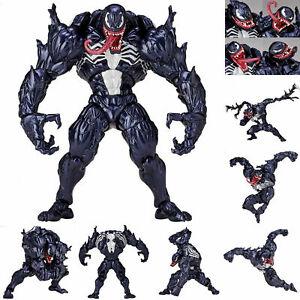 Marvel Spider Man Venom Revoltech Series  Action Figure Modèles Collection Jouet