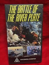 The Battle Of The River Plate VHS Video Tape CEL Home Video