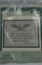NEW Sealed VTG BucillaKennedy Quotation Eagle Cross Stitch Kit 1729 Needlework
