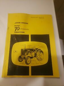 John Deere Model 70 Tractor Standard Gas All Fuel Operators Manual JD