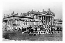 pt1014 - The Hunt at Wentworth Woodhouse , Yorkshire - photograph
