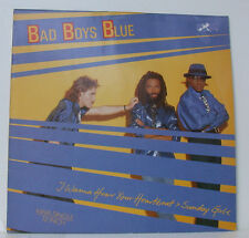 "BAD BOYS BLUE I WANNA HEAR YOUR LATIDO DEL CORAZÓN 12"" MAXI SINGLE (f974)"
