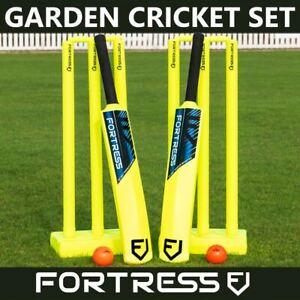 GARDEN CRICKET SET - Kids/Junior/Senior Sizes - PREMIUM Kwik Cricket & Beach Set