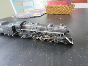 h o trains: An all cast (loco & tender)  project 4-6-2 RIO GRANDE steam engine