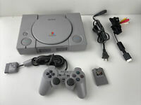Sony PlayStation 1 PS1 Console Complete w/ Controller & Memory Card - NICE!
