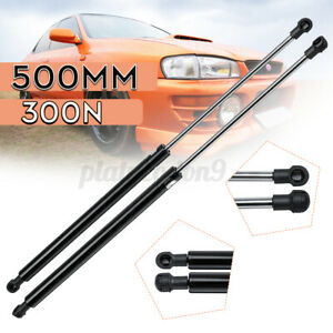 01-/> VW Polo 9N Trunk tailgate lift support damper shock x2 STRUT PROP PAIR