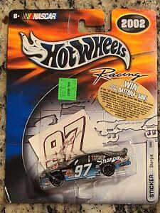 2002 #97 Kurt Busch Sharpie Rubbermaid 1/64 Hotwheels NASCAR Diecast