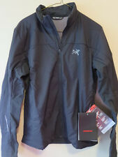 Mens New Arcteryx Argus Jacket Running Cycling Small Color Black