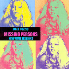 Dale Bozzio MISSING PERSONS New Wave Sessions CD Words Destination Unknown