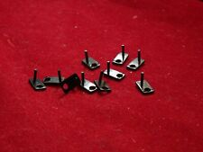 10 New Delrin Replacement Black Guide Pins for Aurora TJet ThunderJet Chassis