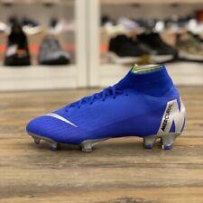 Nike Mercurial Superfly 6 Gr.38,5 Fußball Schuhe blau Elite AH7365 400 Kinder