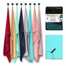 Large Microfibre Travel Camping Beach Lightweight Sports Gym Microfiber Towel UK