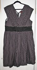 Folter Rockabilly Vintage Style Lucy Dress*2X*Pin-Up Full Skirt*Retro Polkadots!