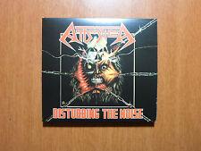 Attomica - Disturbing the Noise RARE Braz 80´s Thrash OOP Official DIGI
