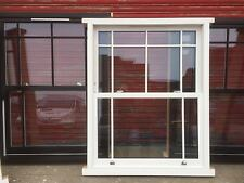 Wooden Timber Traditional Sliding Sash Windows Glazed! Bespoke! Made to Measure!