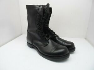"""Corcoran Mens 10"""" Leather Jump Uniform Boot 1500 Made In *USA* Black 7EE"""