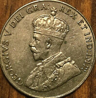 1930 CANADA 5 CENTS GEORGE V COIN - Excellent example!