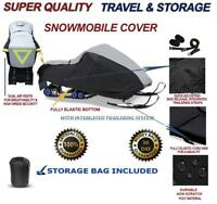 HEAVY-DUTY Snowmobile Cover SkiDoo Summit Everest 154 Rotax 800R Power TEK 2009
