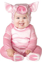 This Lil' Piggy Baby Halloween Costume Set 0-6 Months Infant Little Pig XS