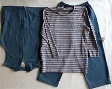 Links 3-Peace Casual Cargo Pants/Sleeveless Vast/Long Sleeve Top Set, NWOT!