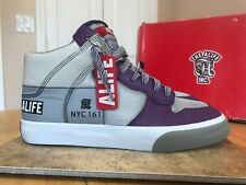 56a4e6503f4963 EVERYBODY HIGH AMERICA LEATHER ALIFE NYC 191 MEN S SHOES SIZE 9 PURPLE  S91EVHI3