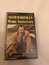 Original Cassette Album - Slim Whitman - Happy Anniversary - United Artists