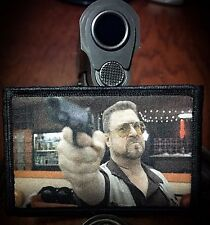 Big Lebowski Movie Mark it Zero Morale Patch Tactical Military USA Dude ARMY