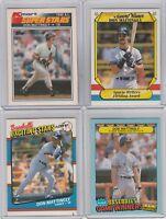 Don Mattingly Yankees Box Set Cards Fleer  Topps Kmart Lot of 4