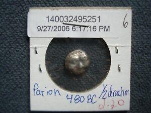 480 BC Mysia Parion - ½ Drachm - 5251