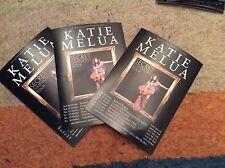 KATIE MELUA- SECRET SYMPHONY- UK TOUR 2012- CONCERT FLYERS X 3