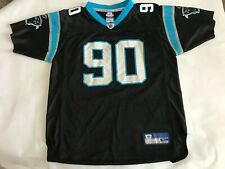 Julius Peppers Autographed Signed Jersey #90 Panthers Black Youth Size XL 18/20