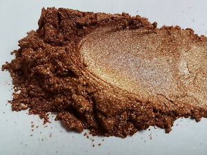 Cosmetic Mica for Soaps, Eye Shadow, Bath Bombs, Nails, Chocolate Brown