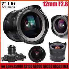 7artisans 12mm F2.8 APS-C 102° Wide Angle MF Lens For Sony E Mount Camera LJ