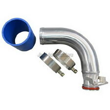 New Rear Turbo Outlet Pipe For Mitsubishi 3000 GT VR-4 & Dodge Stealth TT Blue