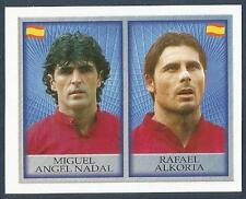 MERLIN-OFFICIAL ENGLAND 1998 WORLD CUP- #229-SPAIN-MIGUEL ANGEL NADAL/R ALKORTA