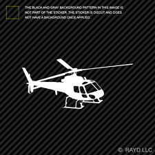 (2x) Flying Eurocopter AS350 Helicopter Sticker Die Cut Decal Self Adhesive