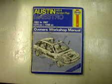 AUSTIN MG MAESTRO 83 - 87 USED HAYNES WORKSHOP MANUAL